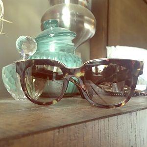 Balenciaga tortoise frames